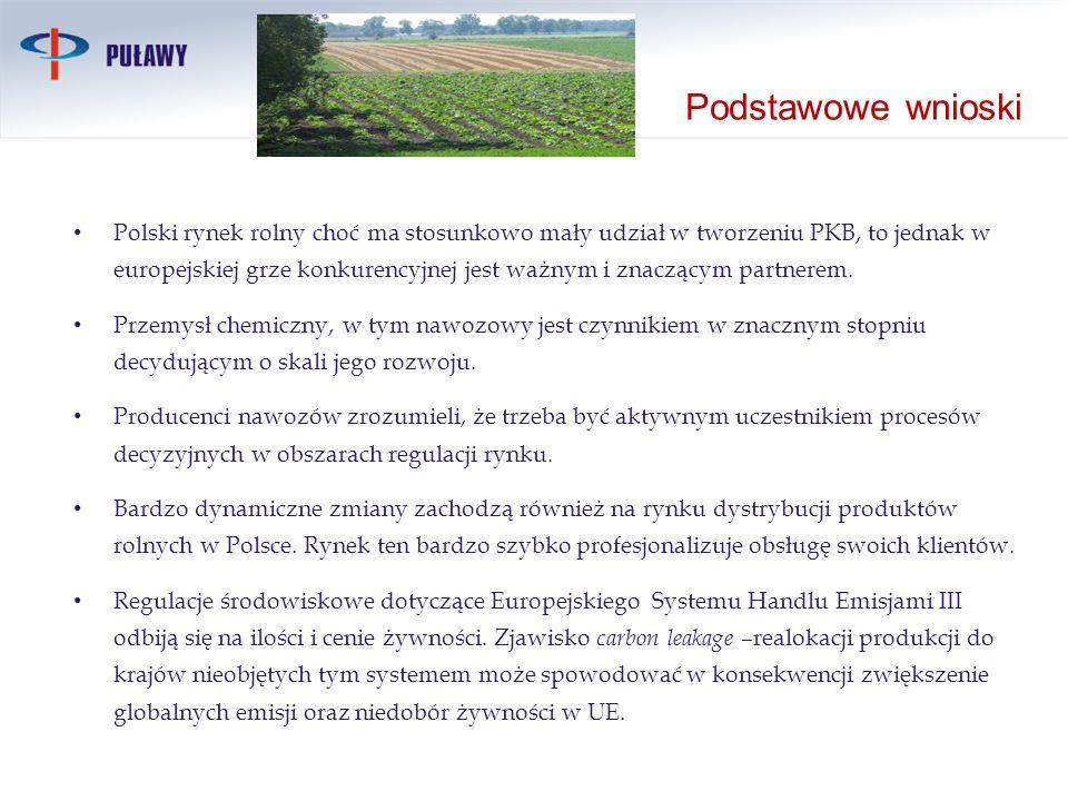 Polski rynek rolny choć ma stosunkowo mały udział w tworzeniu PKB, to jednak w europejskiej grze konkurencyjnej jest ważnym i znaczącym partnerem. Prz
