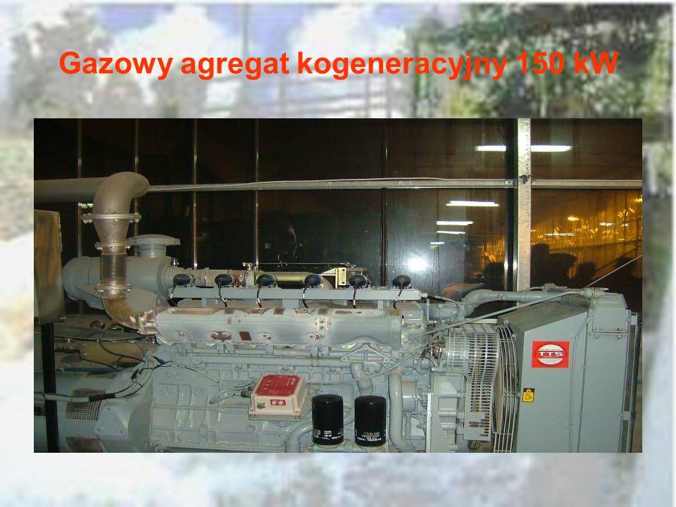 Gazowy agregat kogeneracyjny 150 kW