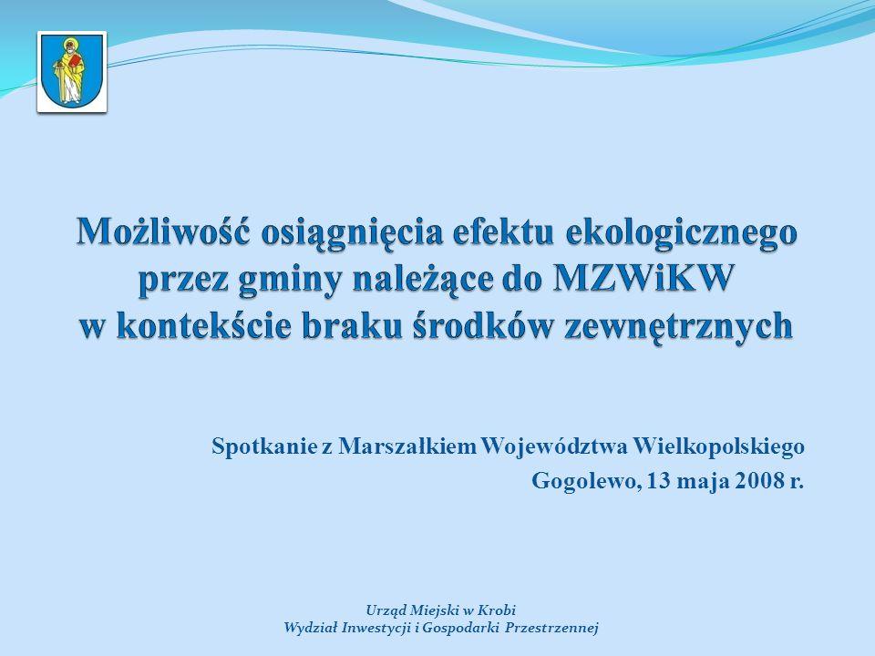 Spotkanie z Marszałkiem Województwa Wielkopolskiego Gogolewo, 13 maja 2008 r.