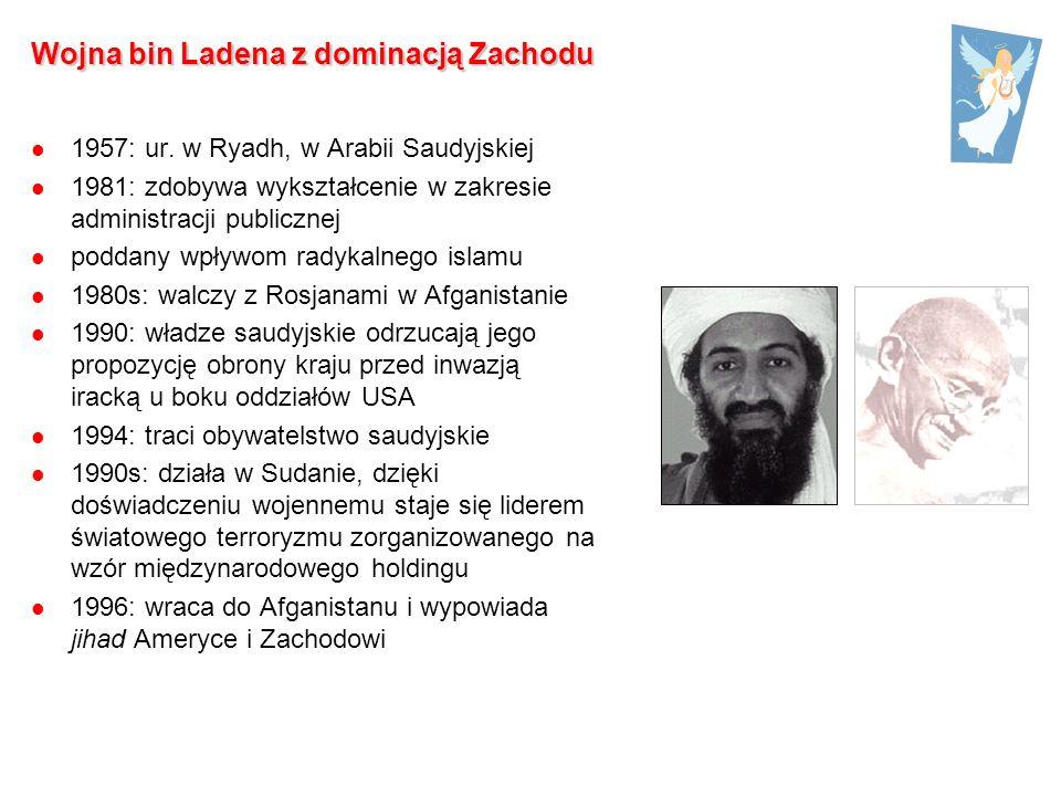 Wojna bin Ladena z dominacją Zachodu 1957: ur.