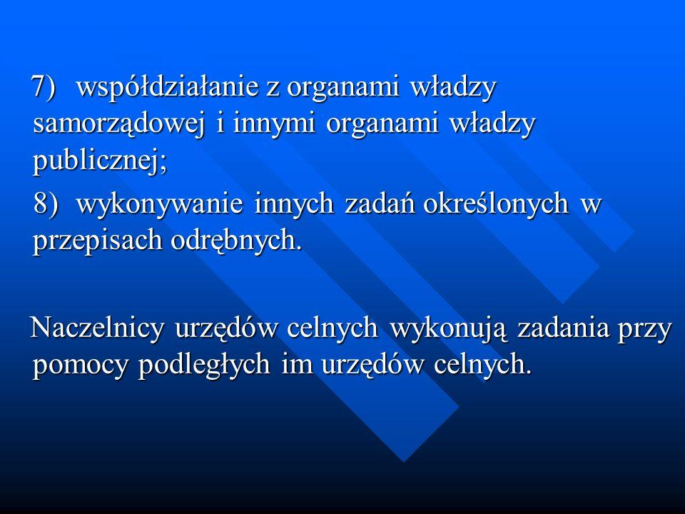 7)współdziałanie z organami władzy samorządowej i innymi organami władzy publicznej; 7)współdziałanie z organami władzy samorządowej i innymi organami