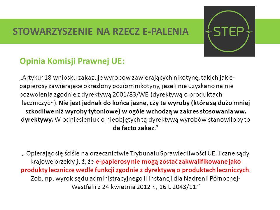 STOWARZYSZENIE NA RZECZ E-PALENIA Kodeks Etyczny: (…) działając na rzecz zrównoważonego rozwoju branży e-papierosowej w Polsce; dążąc do budowy solidnych fundamentów polskich przedsiębiorstw; wyznając fundamentalne wolności, które stanęły u podstaw zjednoczonej Europy; a jednocześnie mając na uwadze dobro i zdrowie naszych konsumentów podpisujemy niniejszy kodeks w pełni świadomi odpowiedzialności oraz wyzwań jakie stawia on przed Nami oraz naszymi pracownikami.