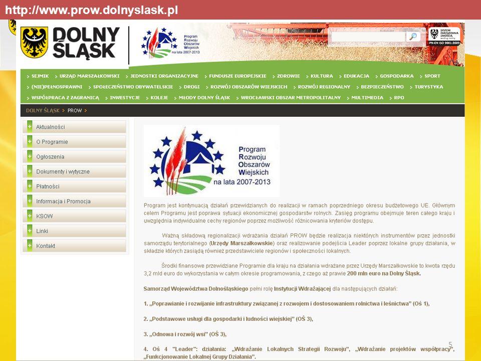 http://www.prow.dolnyslask.pl 5
