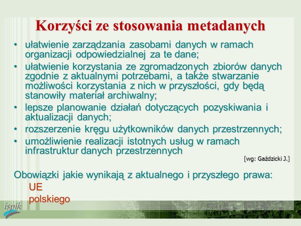[wg: Gaździcki J.] ułatwienie zarządzania zasobami danych w ramach organizacji odpowiedzialnej za te dane;ułatwienie zarządzania zasobami danych w ram