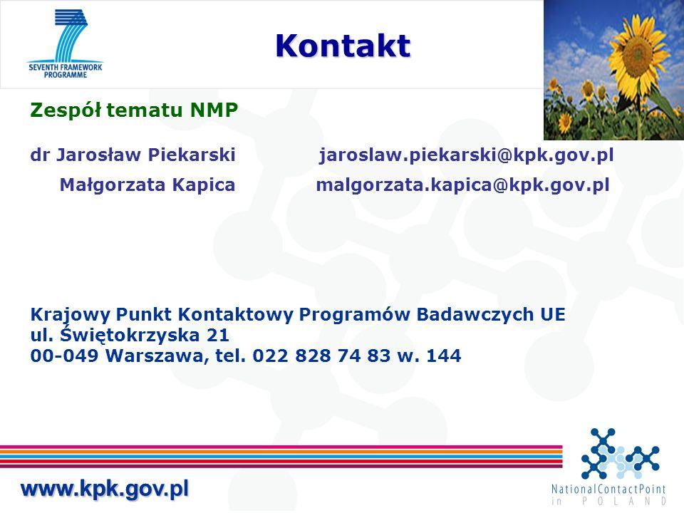 www.kpk.gov.plwww.kpk.gov.pl Kontakt Kontakt www.kpk.gov.pl Zespół tematu NMP dr Jarosław Piekarski jaroslaw.piekarski@kpk.gov.pl Małgorzata Kapicamal