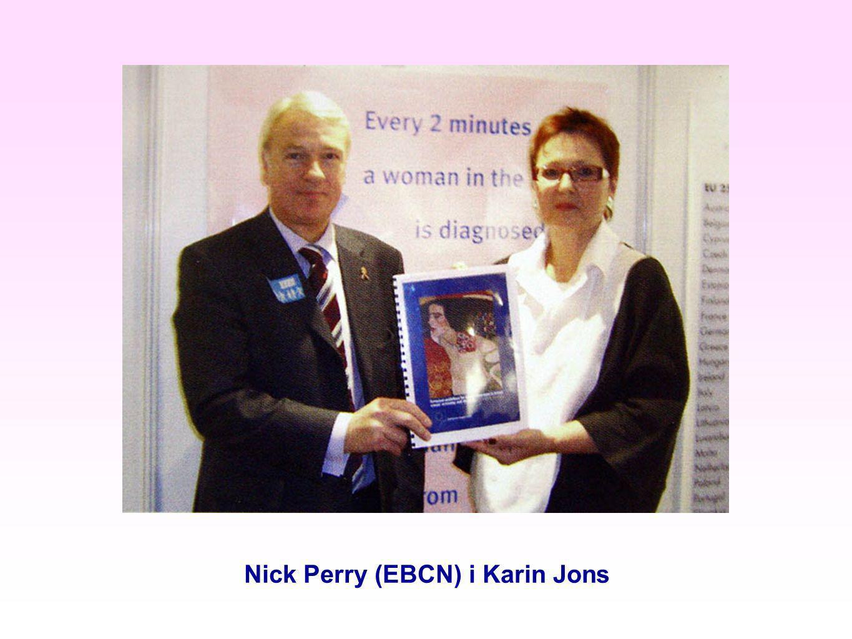 Nick Perry (EBCN) i Karin Jons