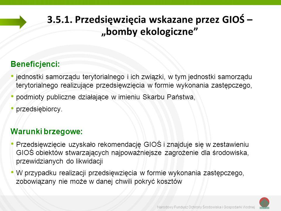 Narodowy Fundusz Ochrony Środowiska i Gospodarki Wodnej 3.5.1.