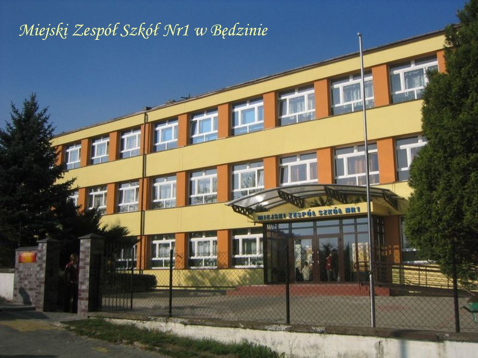 Miejski Zespół Szkół Nr1 w Będzinie