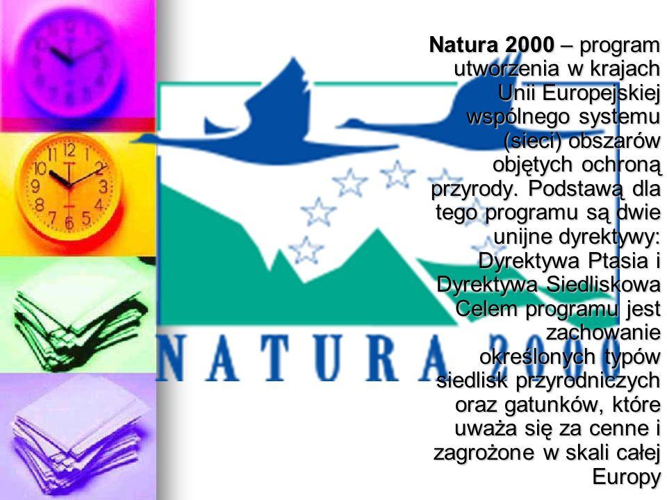 Natura 2000 – program utworzenia w krajach Unii Europejskiej wspólnego systemu (sieci) obszarów objętych ochroną przyrody. Podstawą dla tego programu