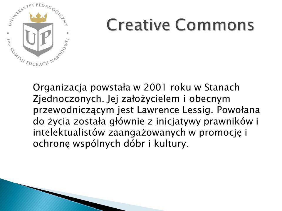 Organizacja powstała w 2001 roku w Stanach Zjednoczonych. Jej założycielem i obecnym przewodniczącym jest Lawrence Lessig. Powołana do życia została g