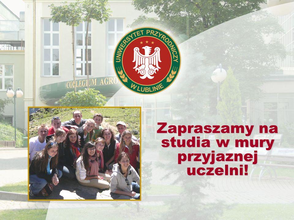 Zapraszamy na studia w mury przyjaznej uczelni!