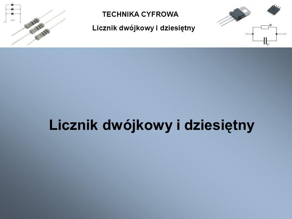 TECHNIKA CYFROWA Bibliografia: 1.P. Gajewski, J. Turczyński, Cyfrowe układy scalone CMOS.