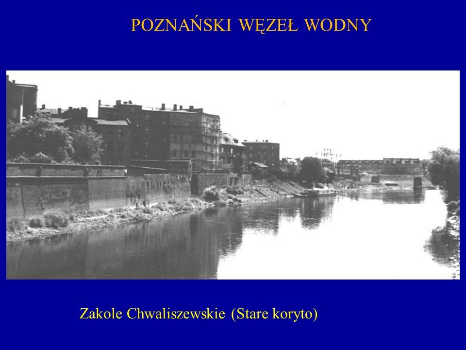 POZNAŃSKI WĘZEŁ WODNY Zakole Chwaliszewskie (Stare koryto)