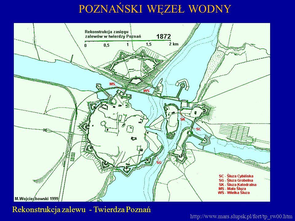 http://www.mars.slupsk.pl/fort/tp_rw00.htm POZNAŃSKI WĘZEŁ WODNY Rekonstrukcja zalewu - Twierdza Poznań