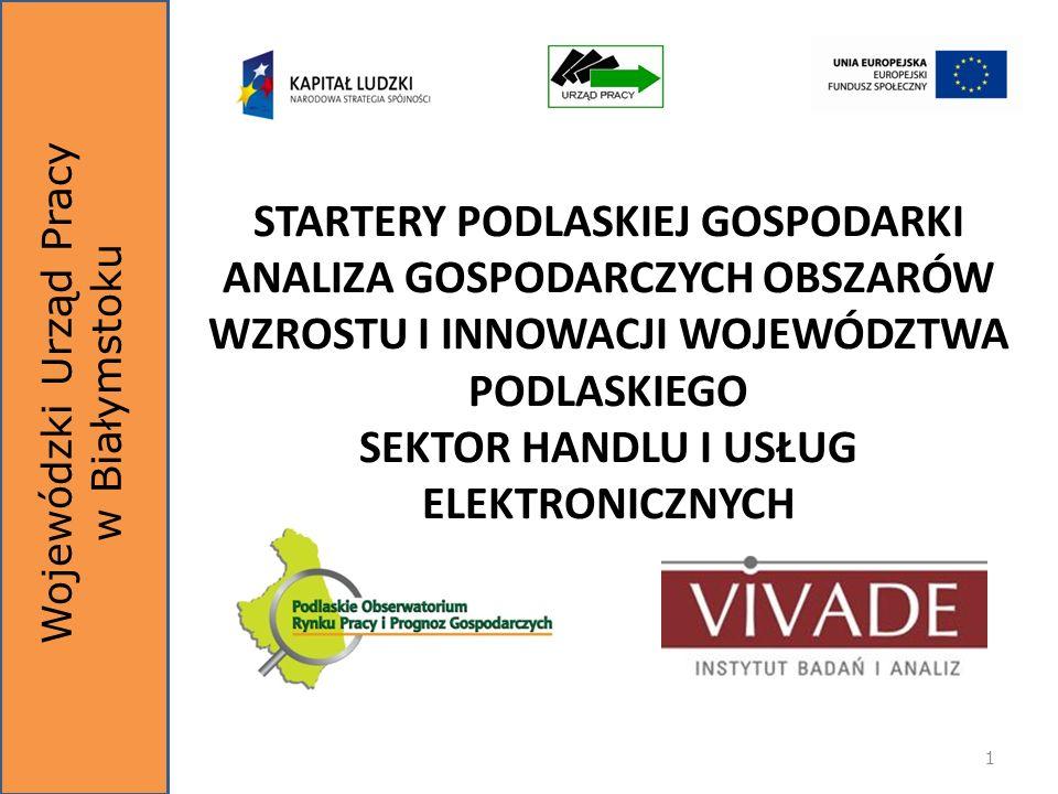 Białystok, 11.12.2012 r.Sektor handlu i usług elektronicznych2 REDAKCJA NAUKOWA: dr hab.