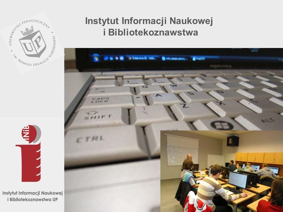 W 2003 r.przyjęto nową nazwę: Instytut Informacji Naukowej i Bibliotekoznawstwa a w roku akad.