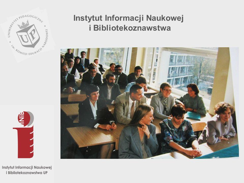 Jako samodzielna jednostka organizacyjna Zakład Bibliotekoznawstwa powołany został w ramach Instytutu Filologii Polskiej w listopadzie 1975 r., a z początkiem 1978 r.