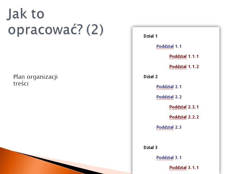 1. Wg kategorii 2. Zadania 3. Użytkownika 4. Języka i położenia 5. Daty / porządku 6. Działu firmy