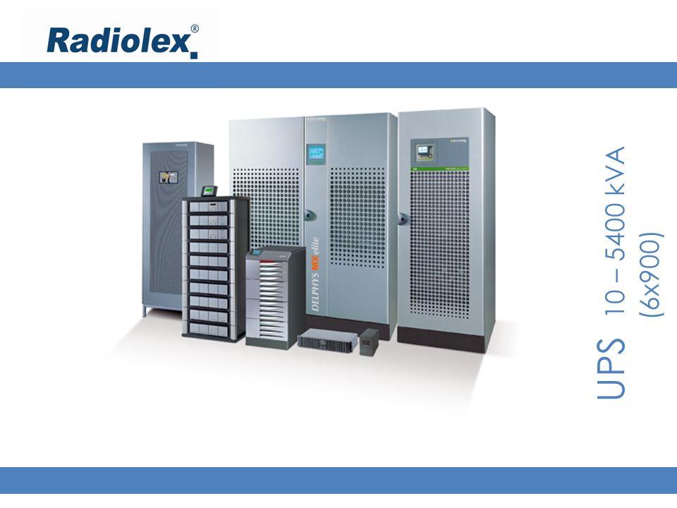 UPS 10 – 5400 kVA (6x900)