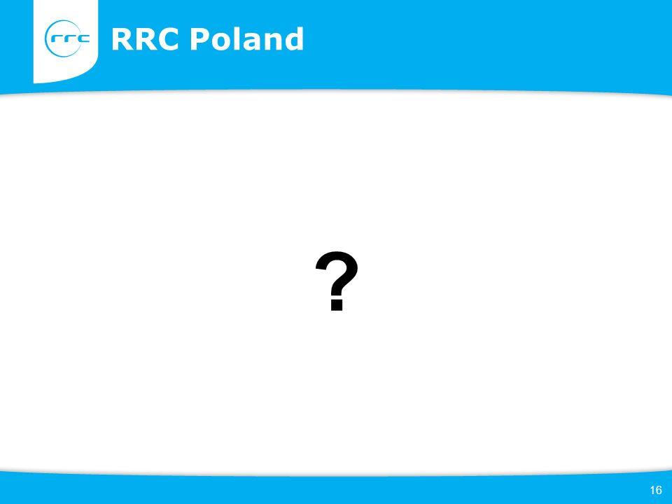 16 RRC Poland ?