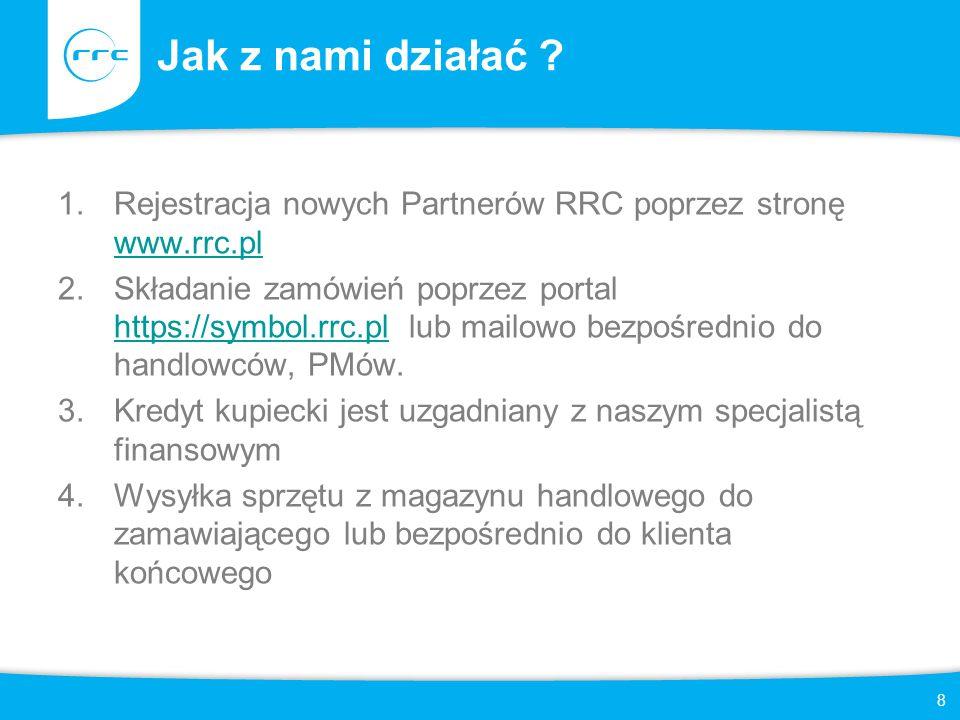 9 https://nec.rrc.pl Funkcjonalności portalu: -Konfigurator produktów -Moduł zgłaszania projektów -Moduł cen specjalnych -Moduł zamówień -Moduł aukcji -Moduł Programu Premiowego -Stany magazynowe on-line -Obsługa serwisowa on-line Portal dla Partnerów RRC