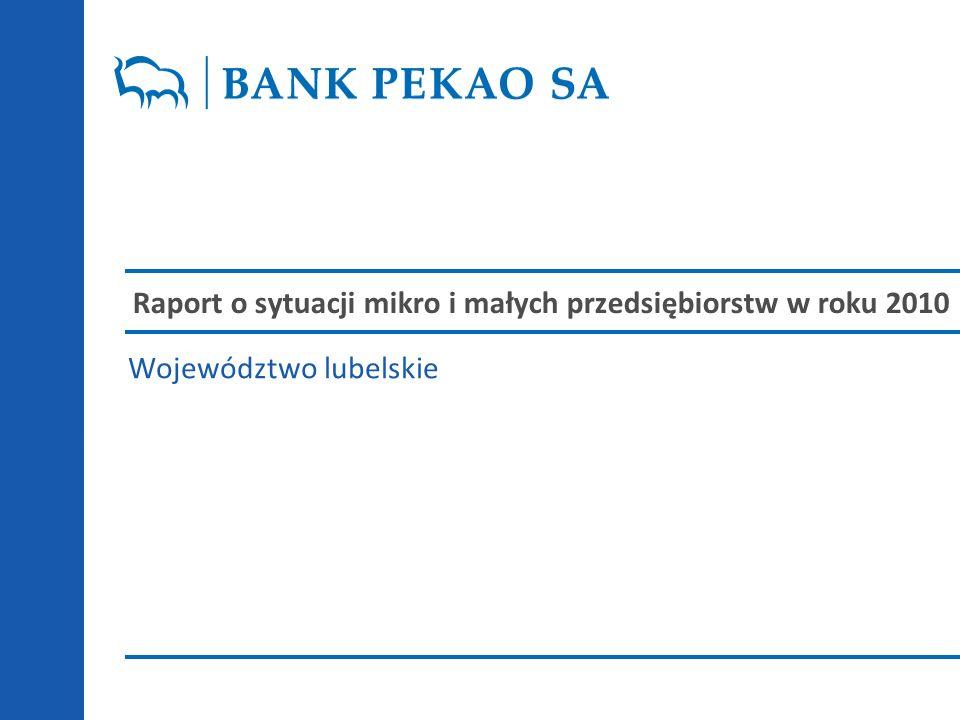 Raport o sytuacji mikro i małych przedsiębiorstw w roku 2010 Województwo lubelskie