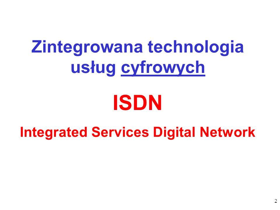 23 telefony ISDN, komputery PC (z kartami ISDN), wideotelefony, telefaksy G4, inne urządzenia cyfrowe (routery, bridge itp.), urządzenia analogowe włączane za pośrednictwem adapterów (TA).