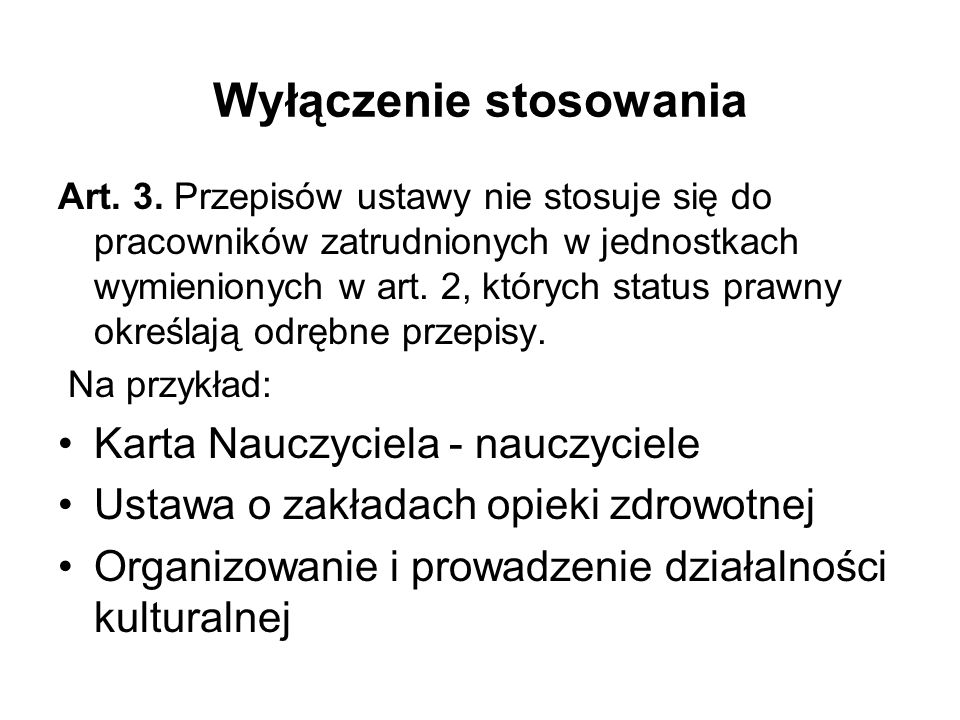 Wyłączenia kobiet w ciąży ( zakaz bezwzględny) pracowników samorządowych sprawujących pieczę nad osobami wymagającymi stałej opieki lub opiekujących się dziećmi w wieku do ośmiu lat ( zakaz względny)