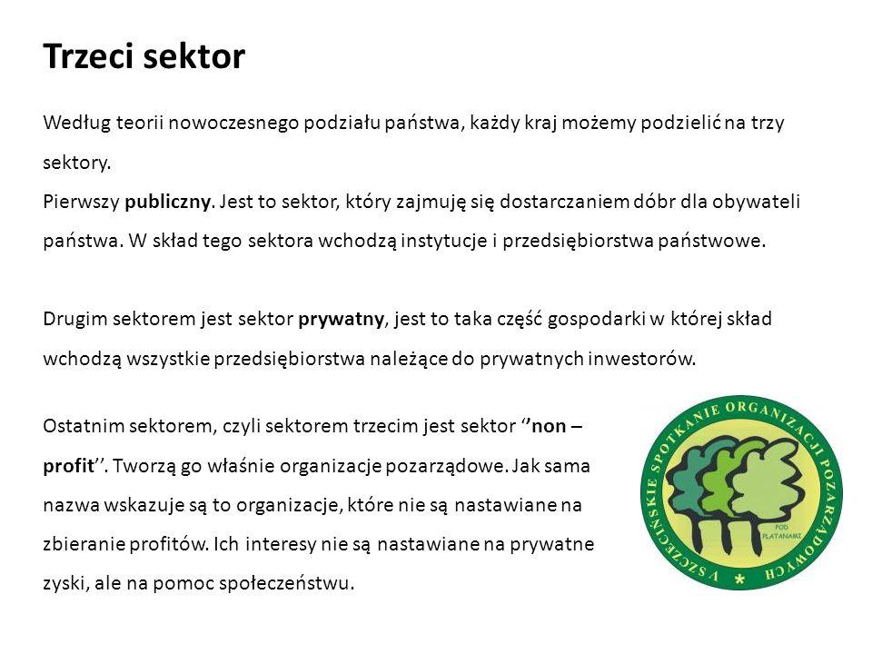 Celami organizacji jest służba społeczeństwu.