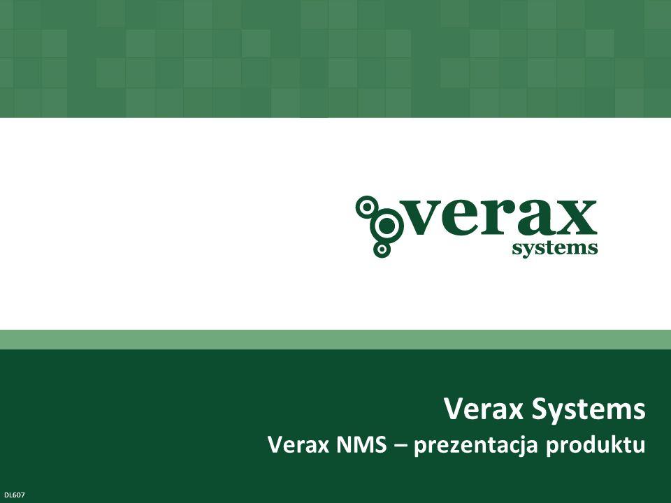 Verax NMS to wysoce skalowalne rozwiązanie z zakresu IT service assurance (zapewnienie jakości usług) do zintegrowanego zarządzania oraz monitorowania sieci, centrów danych i aplikacji Copyright © Verax Systems.