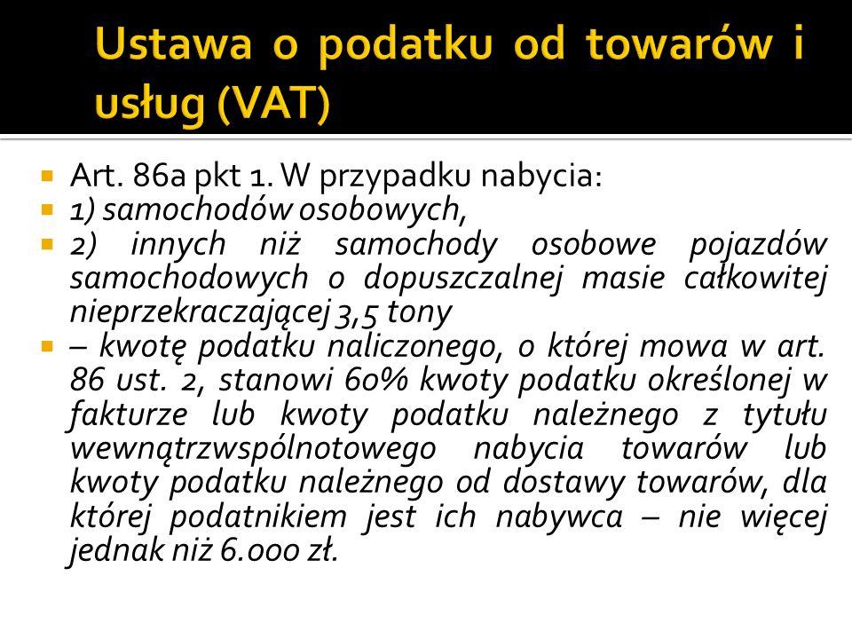 Art. 86a pkt 1.