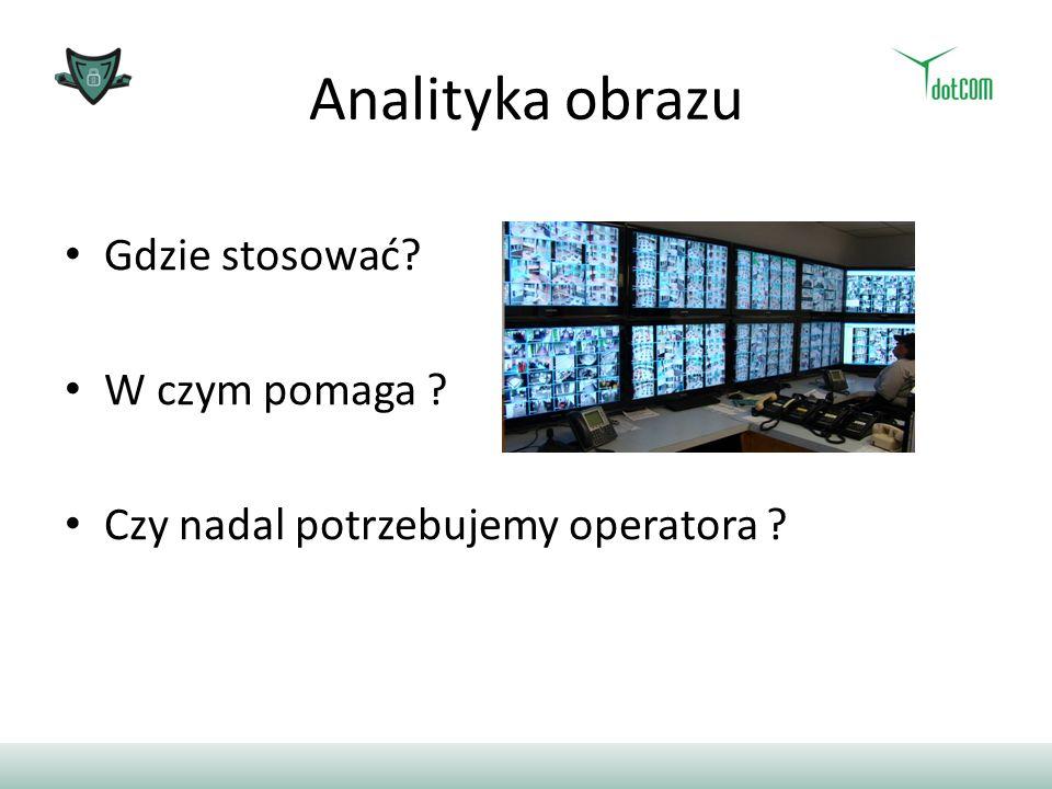 Analityka obrazu Gdzie stosować? W czym pomaga ? Czy nadal potrzebujemy operatora ?