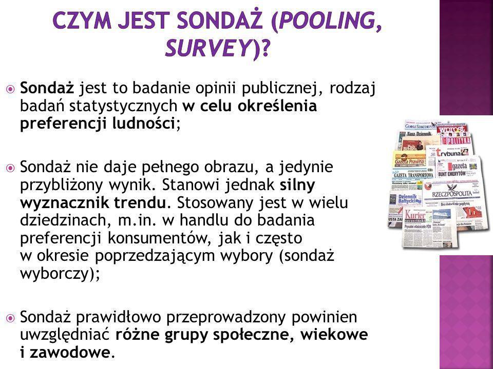 Jakie ośrodki badania opinii publicznej funkcjonują w rynku polskim?