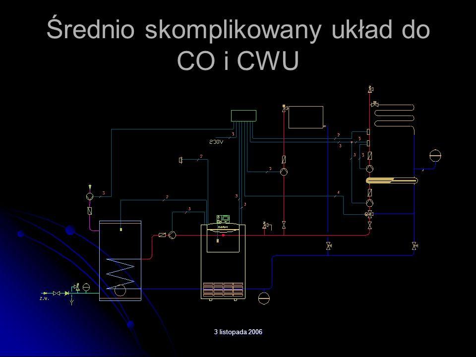 3 listopada 2006 Średnio skomplikowany układ do CO i CWU