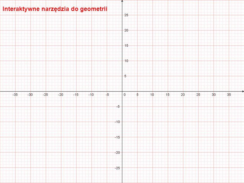 Tablice interaktywne Wbudowana baza figur i funkcji geometrycznych