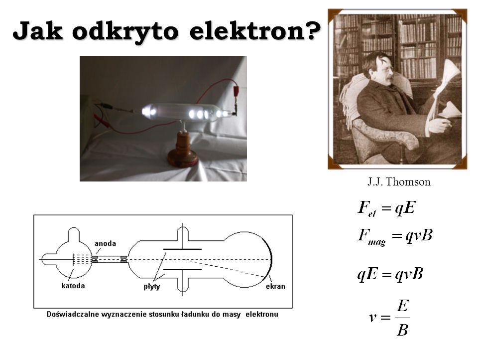 Jak odkryto elektron? J.J. Thomson