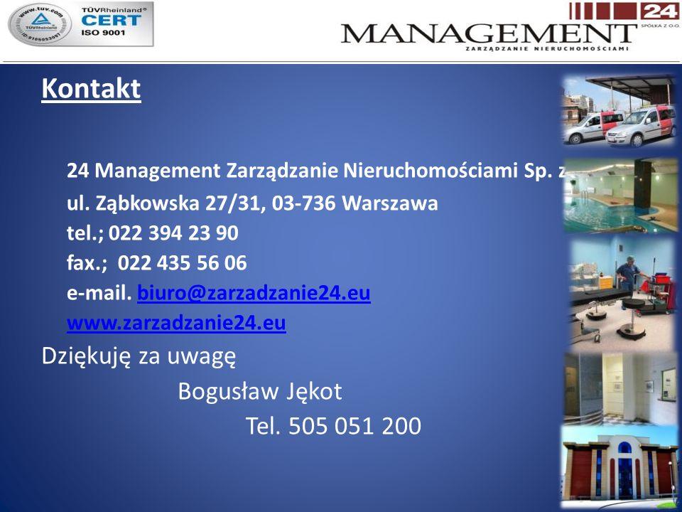 Kontakt 24 Management Zarządzanie Nieruchomościami Sp.
