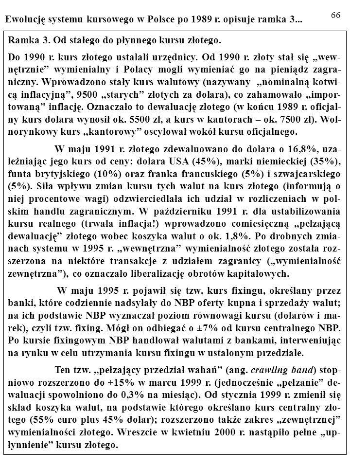 65 1. Kurs CAŁKOWICIE PŁYNNY (ang. pure float).