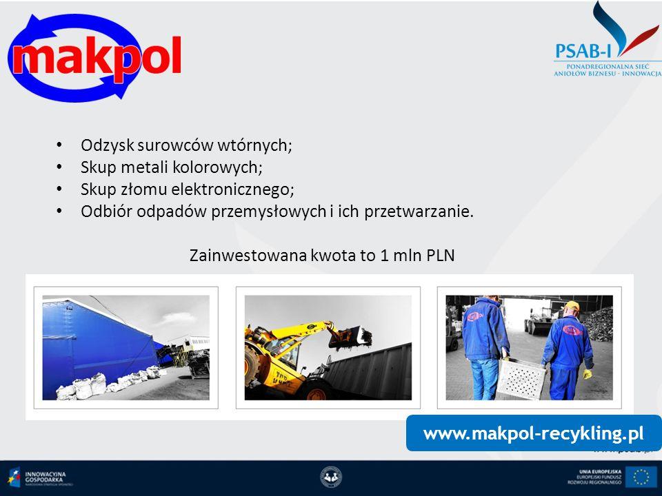 www.makpol-recykling.pl Odzysk surowców wtórnych; Skup metali kolorowych; Skup złomu elektronicznego; Odbiór odpadów przemysłowych i ich przetwarzanie