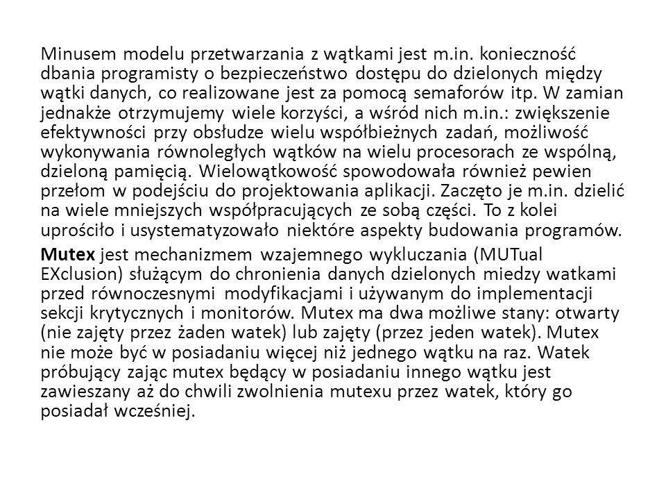 Przegląd migracji kodu w D Agents (1) Prosty przykład agenta Tel w D Agents wysyłającego skrypt do zdalnej maszyny (źródło [gray.r95]) proc factorial n { if ($n 1) { return 1; }# fac(1) = 1 expr $n * [ factorial [expr $n – 1] ] # fac(n) = n * fac(n – 1) } set number … # tells which factorial to compute set machine … # identify the target machine agent_submit $machine –procs factorial –vars number –script {factorial $number } agent_receive …# receive the results (left unspecified for simplicity)