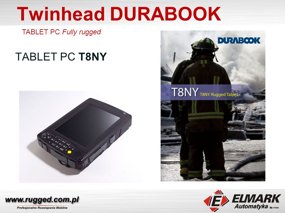 Twinhead DURABOOK TABLET PC T8NY TABLET PC Fully rugged