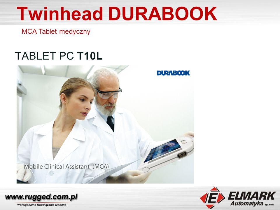 Twinhead DURABOOK TABLET PC T10L MCA Tablet medyczny