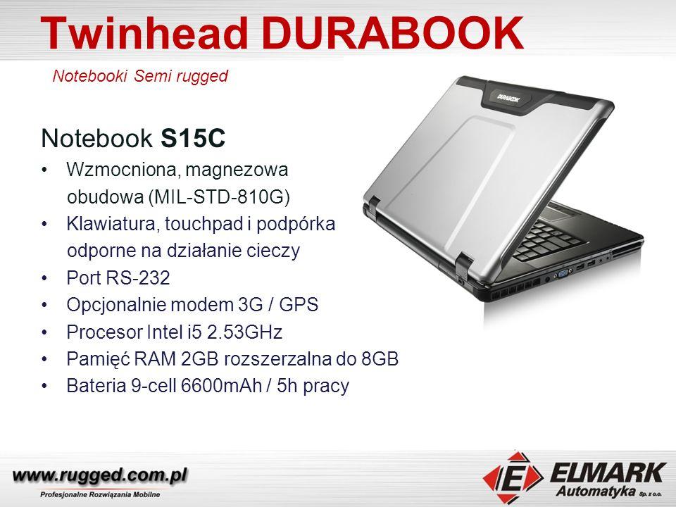 Twinhead DURABOOK Convertible TABLET PC U12C Convertible TABLET PC Semi rugged