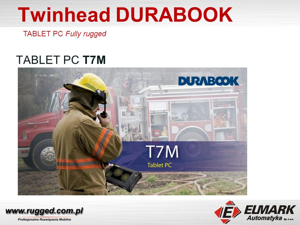 Twinhead DURABOOK TABLET PC T7M TABLET PC Fully rugged
