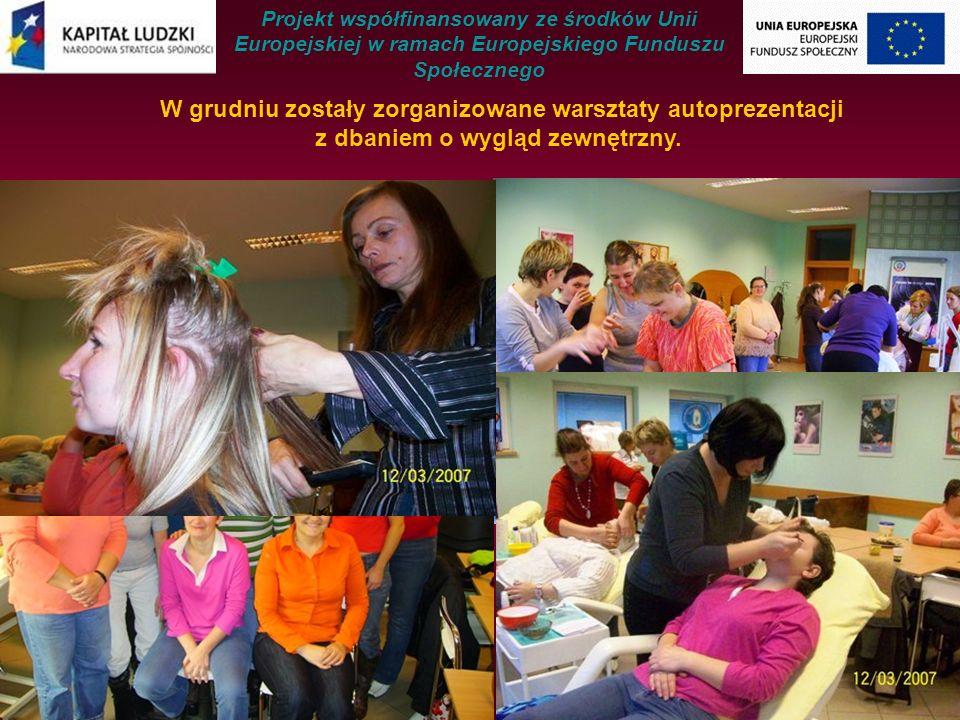 W ramach projektu systemowego organizowany był program wsparcia dla rodzin, w których występują problemy wychowawcze.