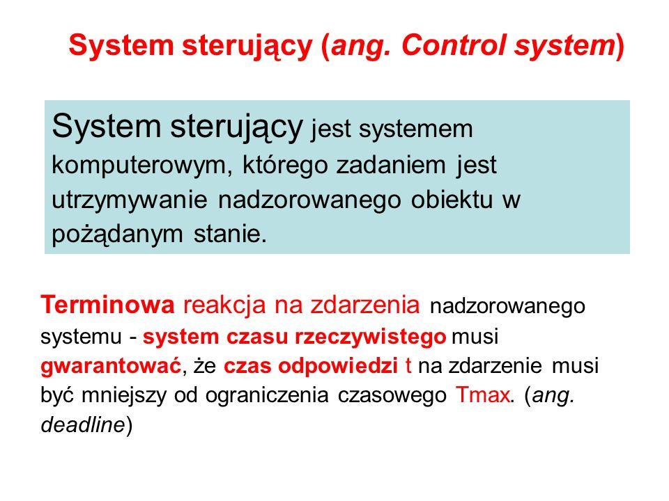 System sterujący jest systemem komputerowym, którego zadaniem jest utrzymywanie nadzorowanego obiektu w pożądanym stanie. System sterujący (ang. Contr