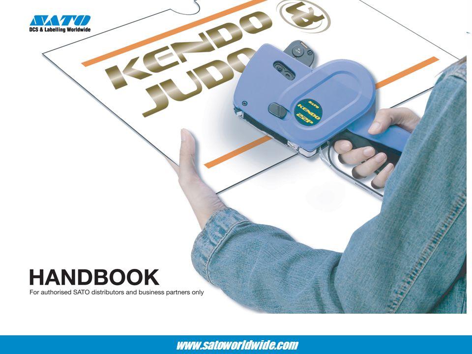 www.satoworldwide.com Szeroka Ścieżka Prowadzenia Etykiet SATO KENDO & JUDO METOBLITZJOLLYMOTEXPRICE LABELLER 28mm19.6mm14.3mm9.0mm7.0mm5.0mm 12 Najłatwiejsze Zakładanie Etykiet