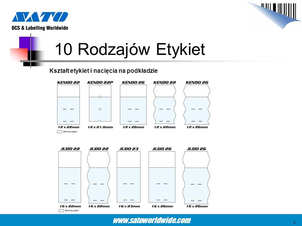 www.satoworldwide.com Opakowanie i) Wewnętrzna etykieta na pudełku ii) Sznurek Przykład 45