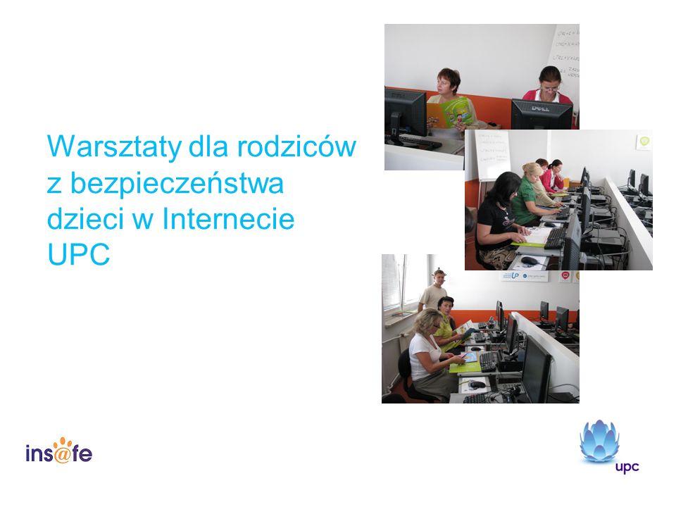 Warsztaty dla rodziców z bezpieczeństwa dzieci w Internecie UPC