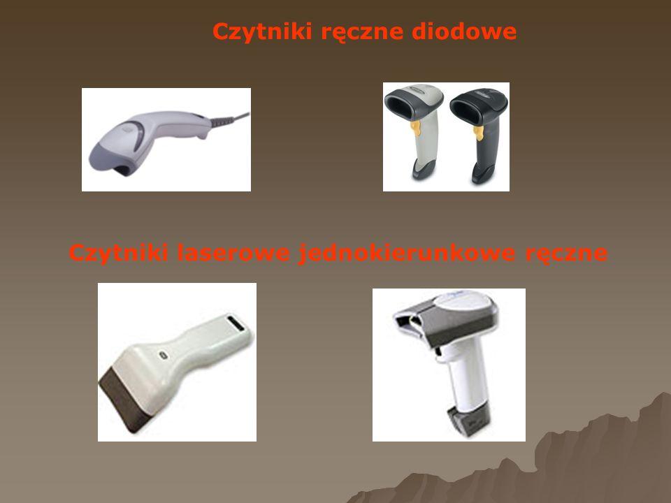 Czytniki ręczne diodowe Czytniki laserowe jednokierunkowe ręczne